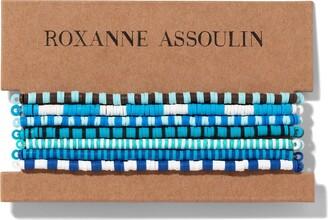 Roxanne Assoulin Color Therapy Blue bracelet set
