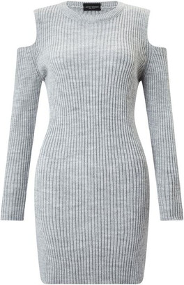 James Lakeland Cold Shoulder Knit Dress