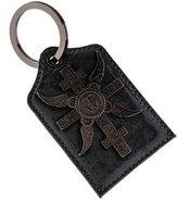 Thomas Wylde Patent Leather Logo Keychain