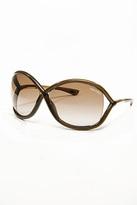 Tom Ford Eyewear Tom Ford Whitney Dark Brown Sunglasses