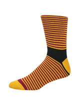 Striped & Geometric Crew Socks Set (2 PK)