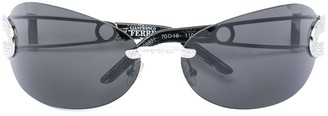 Gianfranco Ferré Pre-Owned Embellished Sunglasses