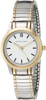 Anne Klein Women's AK/1371WTTT Two-Tone Expansion Band Watch