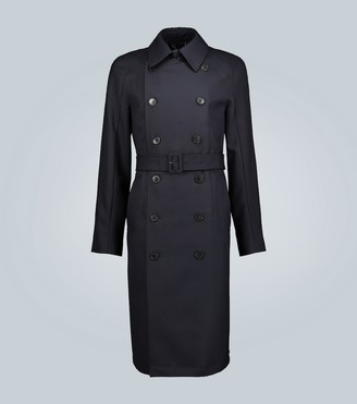 Dries Van Noten Wool-blend trench coat