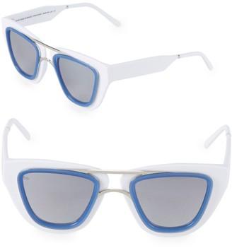 Smoke X Mirrors Sodapop IV 48MM Square Oversized Sunglasses