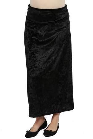 Jazz Velvet Maternity Skirt