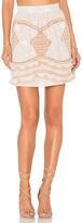 For Love & Lemons Winona Mini Skirt