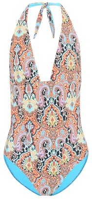 Etro Printed one-piece swimsuit