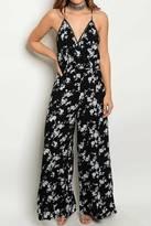 Hommage Floral Print Jumpsuit