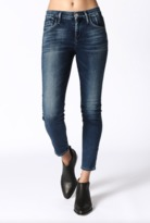 Gold Sign Virtual High Rise Skinny Jean in Hampton