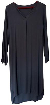 C.b. Made In Italy Grey Viscose Dresses