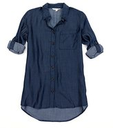 C&C California Women's Single Pocket Button Up