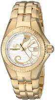 Technomarine Women's 'Cruise' Quartz Stainless Steel Casual Watch, Color:Gold-Toned (Model: TM-115284)