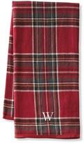 Williams-Sonoma Red Tartan Plaid Towels, Set of 2