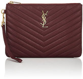 Saint Laurent Women's Monogram Pouch Wristlet