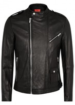 Hugo Lonn Black Leather Jacket