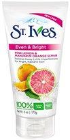 St. Ives Scrub, Even & Bright Pink Lemon & Mandarin Orange 6 Ounce
