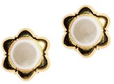 Thumbnail for your product : Lele Sadoughi Faux Pearl Carnation Stud Earrings
