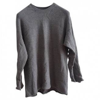 Base Range Grey Wool Knitwear