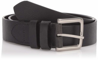 Cole Haan Men's 35mm Cut Edge Belt with Double Loop Keeper