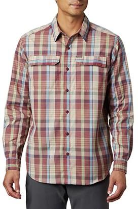 Columbia Silver Ridge 2.0 Plaid Long Sleeve Shirt (Red Jasper Multi Plaid) Men's Long Sleeve Button Up