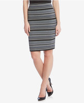 Karen Kane Jacquard Pencil Skirt