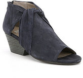 Eileen Fisher Anise Suede Peep Toe Shooties
