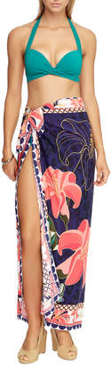 Jets Mixed-Print Coverup Pareo