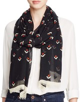 Marc Jacobs Tulip Twill Scarf