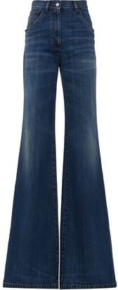 Prada Flared High-Rise Jeans