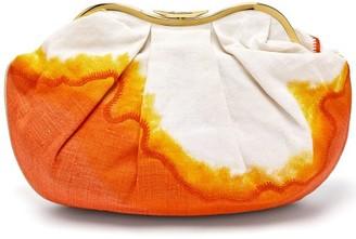 Kilometre Paris - X Isla Fontaine Sandolo Indonesia Clutch - Orange Multi