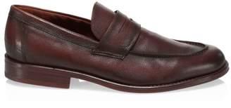Loro Piana City Walk Leather Penny Loafers
