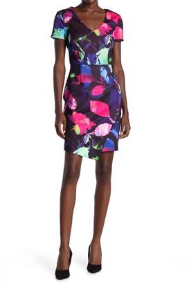 trina Trina Turk Cavan Floral Sheath Dress