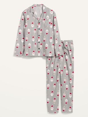 Old Navy Patterned Flannel Pajama Sets for Men