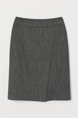 H&M Patterned Skirt - Gray