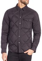 Rag & Bone Mallory Quilted Shirt Jacket