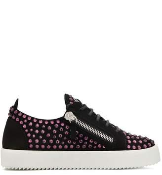 Giuseppe Zanotti Doris crystal-embellished sneakers