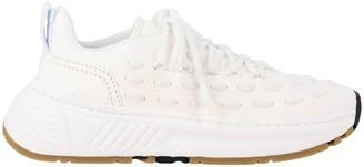 Bottega Veneta Leather Sneakers With Criss Cross
