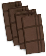 Cuisinart Four-Pack Checked Napkin Set