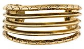 House Of Harlow Engraved Split Cuff Bracelet