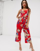 AX Paris floral jumpsuit