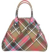 Vivienne Westwood Derby Plaid Handle Bag