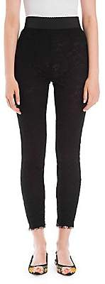 Dolce & Gabbana Women's Lace Leggings