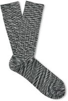 Missoni - Ribbed Mélange Wool-blend Socks