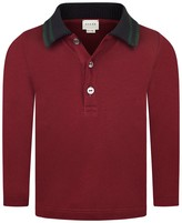 Burgundy kids top shopstyle uk Burgundy polo shirt boys