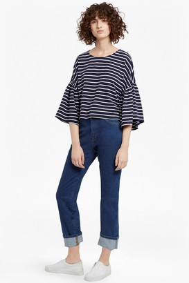 French Connection Tim Tim Bell Sleeves Top