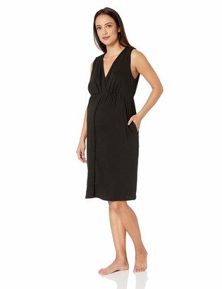 Motherhood Maternity Women's Maternity 3 in 1 Labor Delivery and Nursing Gown