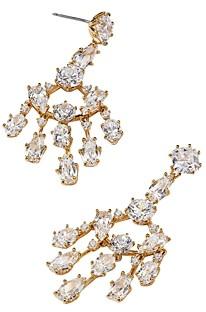 Nadri Nadi Frolic Cubic Zirconia Small Chandelier Earrings