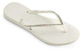 Havaianas Women's Crystal Mesh Slim Flip-Flops