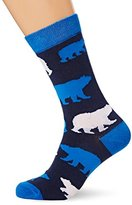 Hatley Little House by Men's Crew Moose On Calf Socks